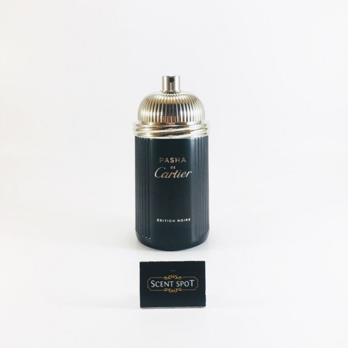 Pasha De Cartier Noire by Cartier (Tester) 100ml Eau De Toilette Spray (Men)