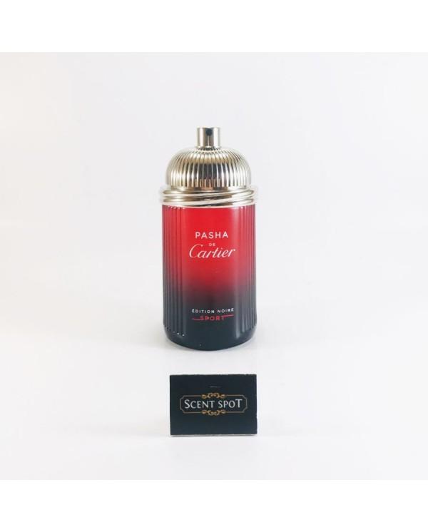 Pasha De Cartier Noire Sport by Cartier (Tester) 100ml Eau De Toilette Spray (Men)