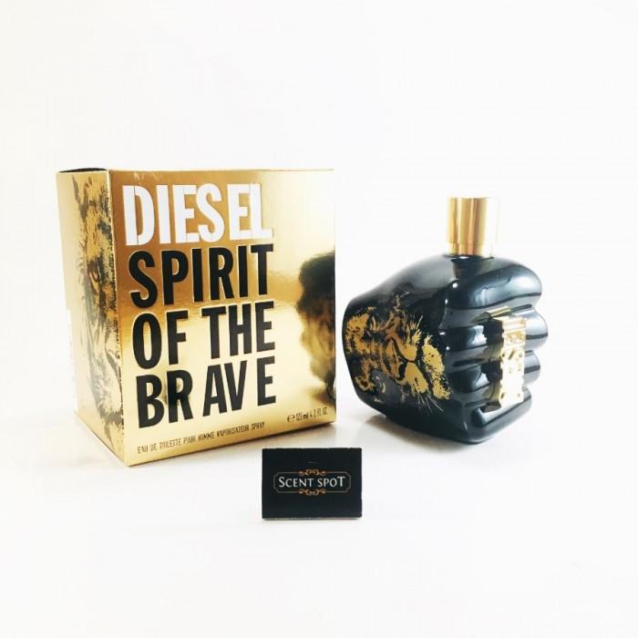 Spirit Of The Brave by Diesel (New in Box) 125ml Eau De Toilette Spray (Men)