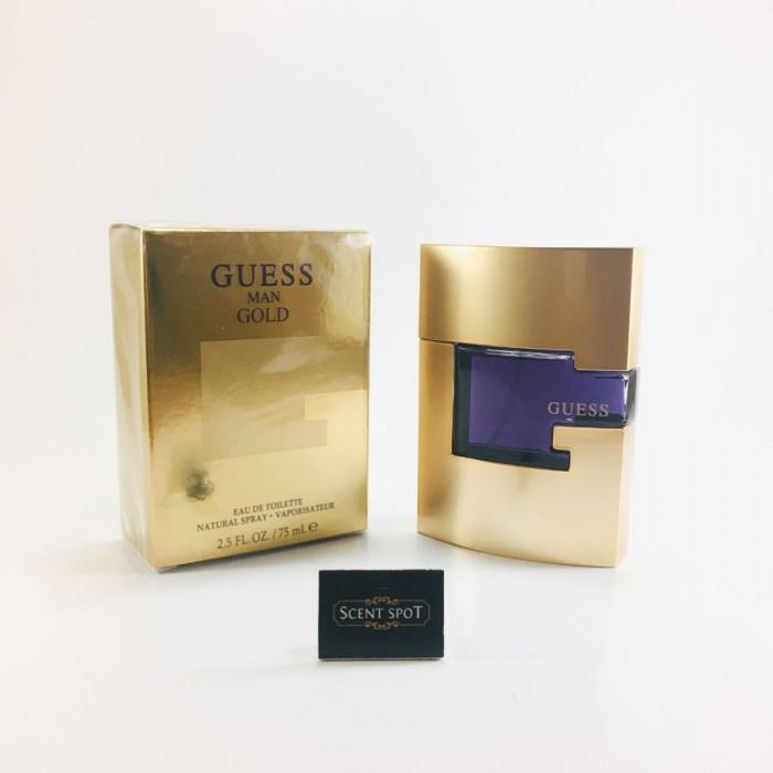 Gold by Guess (New in Box) 75ml Eau De Toilette Spray (Men)