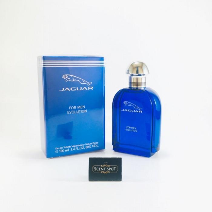 Evolution by Jaguar (New in Box) 100ml Eau De Toilette Spray (Men)