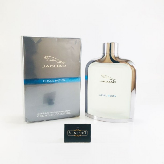 Classic Motion by Jaguar (New in Box) 100ml Eau De Toilette Spray (Men)