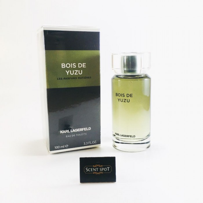 Bois De Yuzu by Karl Lagerfeld (New in Box) 100ml Eau De Toilette Spray (Men)