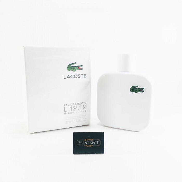 Eau De Lacoste L.12.12 Blanc by Lacoste (New in Box) 100ml Eau De Toilette Spray (Men)