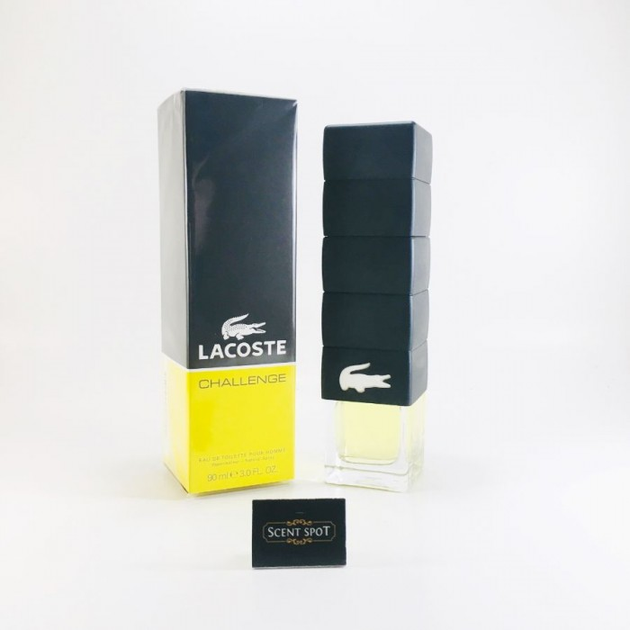 Challenge by Lacoste (New in Box) 90ml Eau De Toilette Spray (Men)