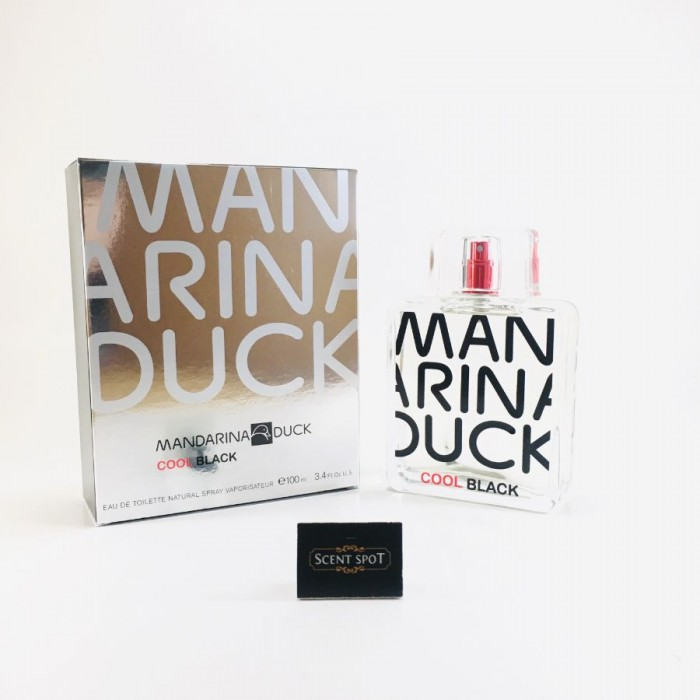 Cool Black by Mandarina Duck (New in Box) 100ml Eau De Toilette Spray (Men)