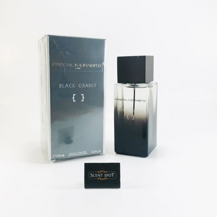 Black Granit by Pascal Morabito (New in Box) 100ml Eau De Toilette Spray (Men)