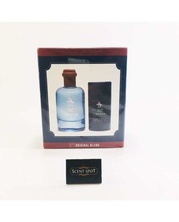 Original Blend by Penguin (Gift Set) - 100ml Eau De Toilette Spray + 82ml Deodorant Stick (Alcohol Free) (Men)