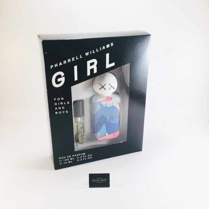 Girl by Pharrell Williams (Gift Set) - 100ml Eau De Parfum Spray + 10ml Mini EDP Spray (Unisex)