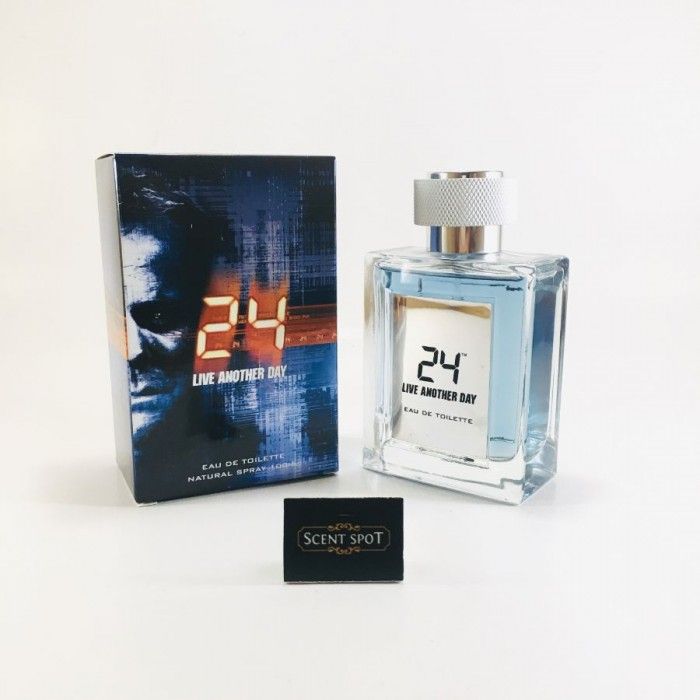 24 Live Another Day by Scentstory (New in Box) 100ml Eau De Toilette Spray (Men)