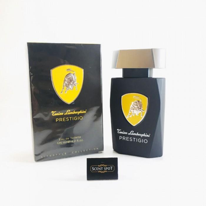 Prestigio by Tonino Lamborghini (New in Box) 125ml Eau De Toilette Spray (Men)