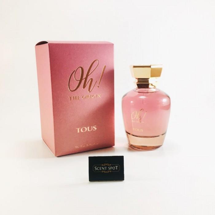 Oh! The Origin by Tous (New in Box) 100ml Eau De Parfum Spray (Women)