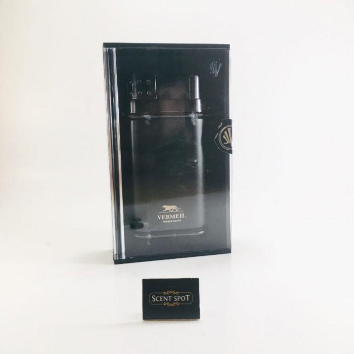 Double Black by Vermeil (New in Box) 100ml Eau De Toilette Spray (Men)
