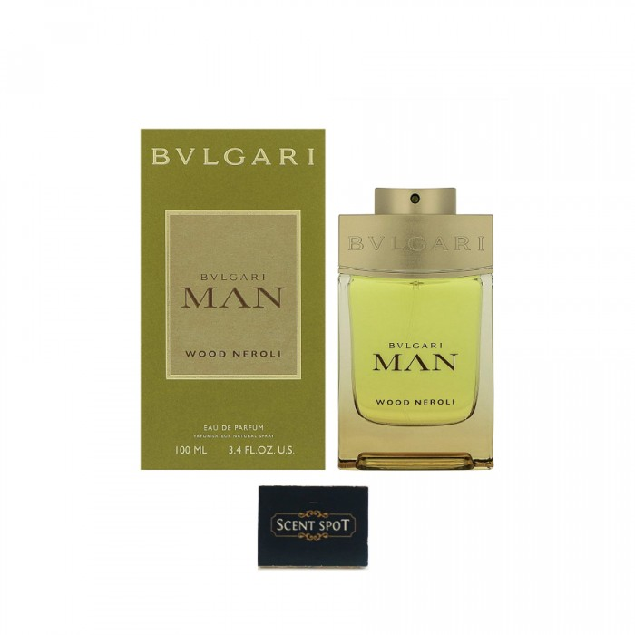 Man Wood Neroli by Bvlgari (New in Box) 100ml Eau De Parfum Spray (Men)