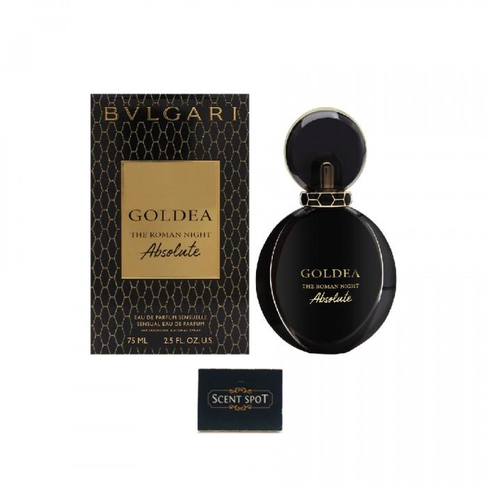 Goldea The Roman Night Absolute by Bvlgari (New in Box) 75ml Eau De Parfum Spray (Women)