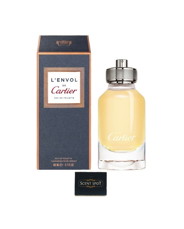 L'envol De Cartier by Cartier (New in Box) 80ml Eau De Toilette Spray (Men)