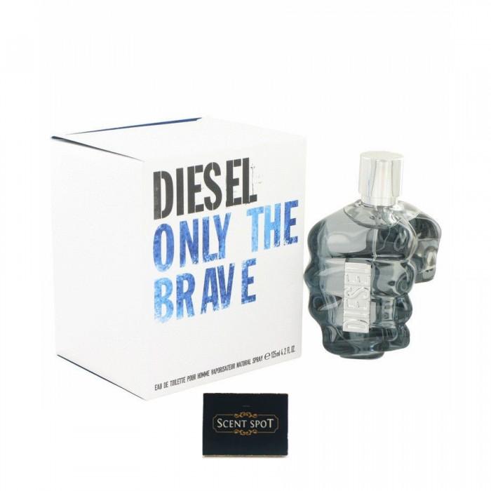 Only The Brave by Diesel (New in Box) 125ml Eau De Toilette Spray (Men)