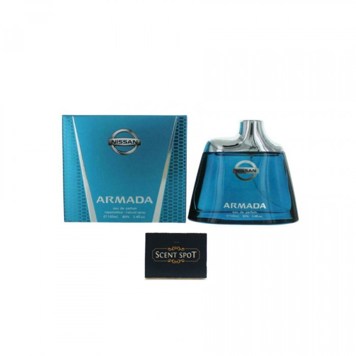 Armada by Nissan (New in Box) 100ml Eau De Parfum Spray (Men)