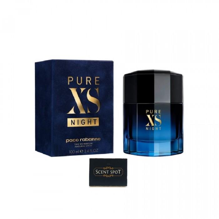 Pure Xs Night by Paco Rabanne (New in Box) 100ml Eau De Parfum Spray (Men)
