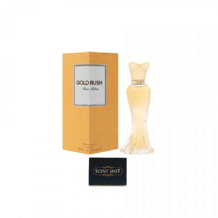 Gold Rush by Paris Hilton (New in Box) 100ml Eau De Parfum Spray (Women)