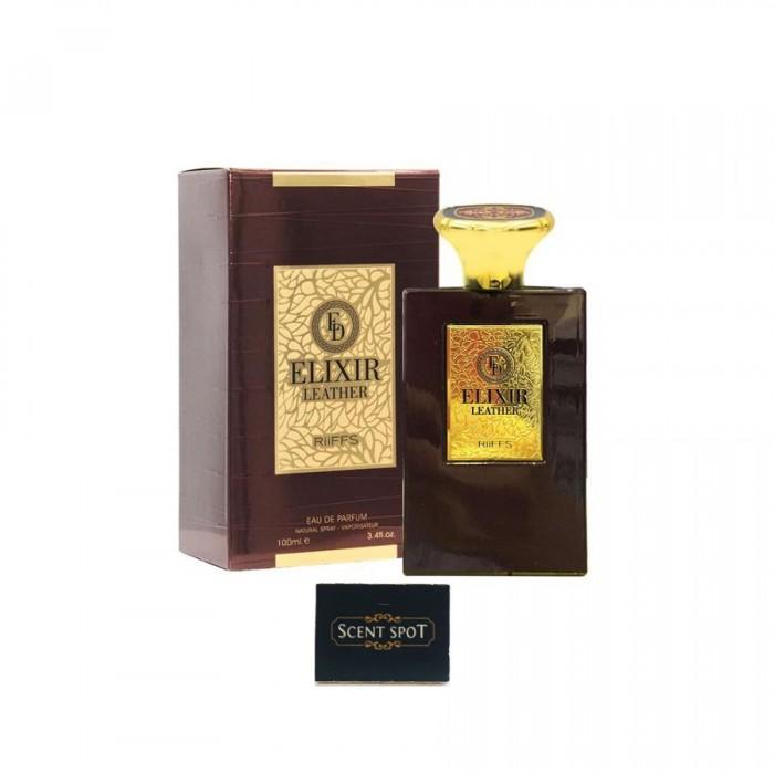 Elixir Leather by Riiffs (New in Box) 100ml Eau De Parfum Spray (Men)