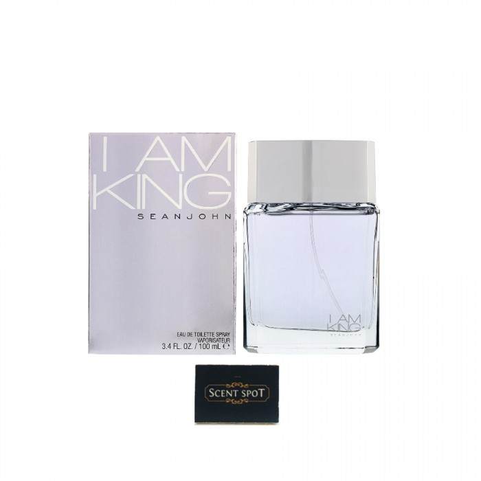 I Am King by Sean John (New in Box) 100ml Eau De Toilette Spray (Men)