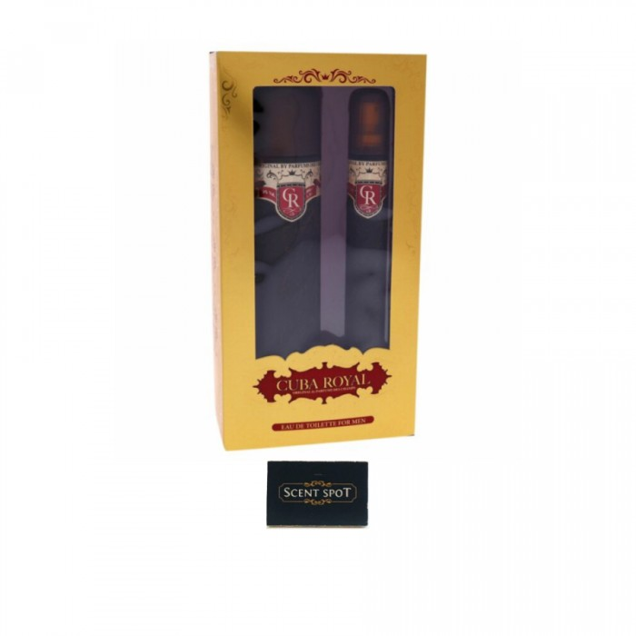 Royal by Fragluxe (Gift Set) - 100ml Eau De Toilette Spray + 35ml Eau De Toilette Spray (Men)