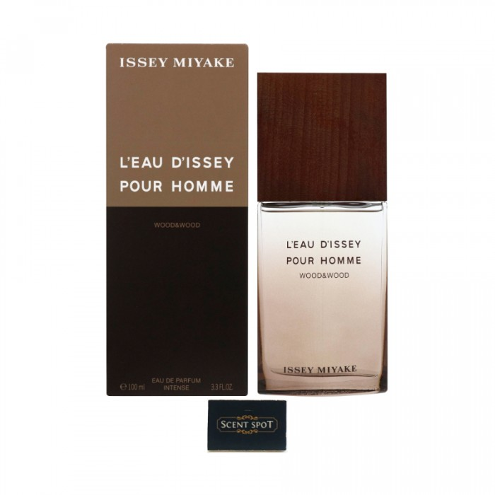 L'eau D'issey Pour Homme Wood & Wood by Issey Miyake (New in Box) 100ml Eau De Toilette Spray (Men)