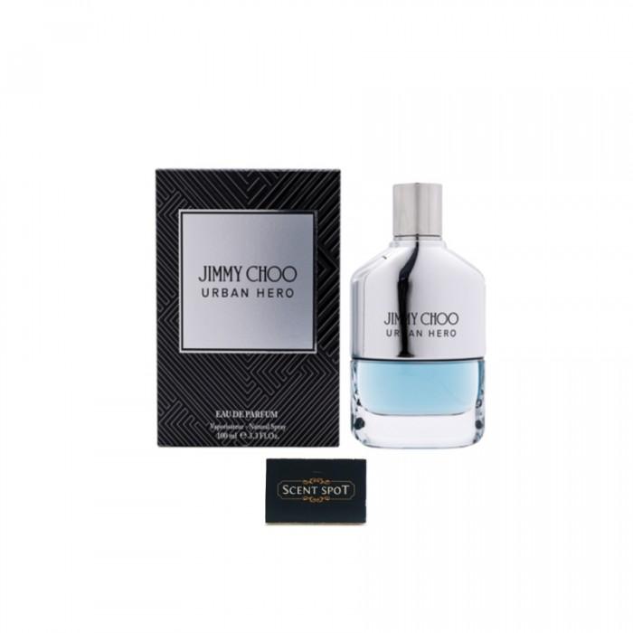 Urban Hero by Jimmy Choo (New in Box) 100ml Eau De Parfum Spray (Men)