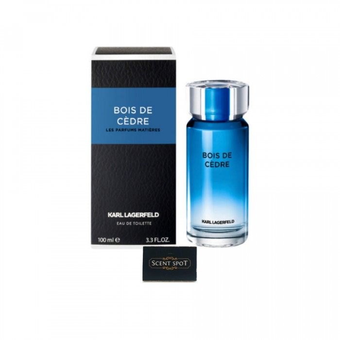 Bois De Cedre by Karl Lagerfeld (New in Box) 100ml Eau De Toilette Spray (Men)