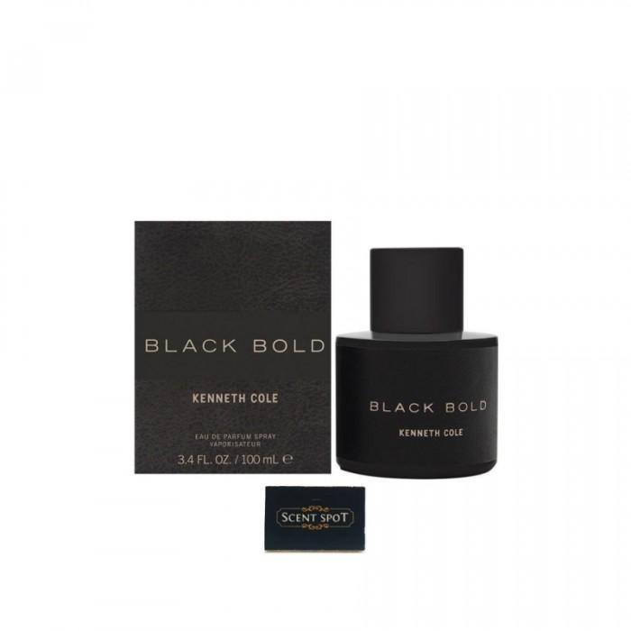 Black Bold by Kenneth Cole (New in Box) 100ml Eau De Parfum Spray (Men)
