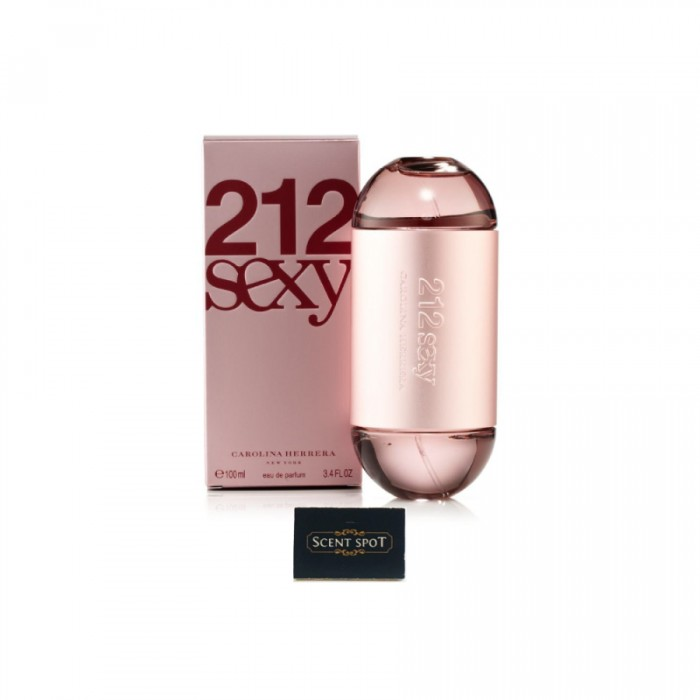 212 Sexy by Carolina Herrera (New in Box) 100ml Eau De Parfum Spray (Women)
