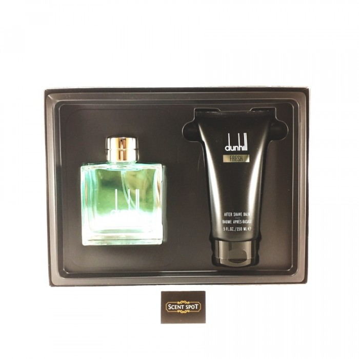 Fresh by Alfred Dunhill (Gift Set) - 100ml Eau De Toilette Spray + 150ml After Shave Balm (Men)