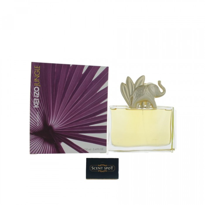 Jungle Elephant by Kenzo (New in Box) 100ml Eau De Parfum Spray (Women)