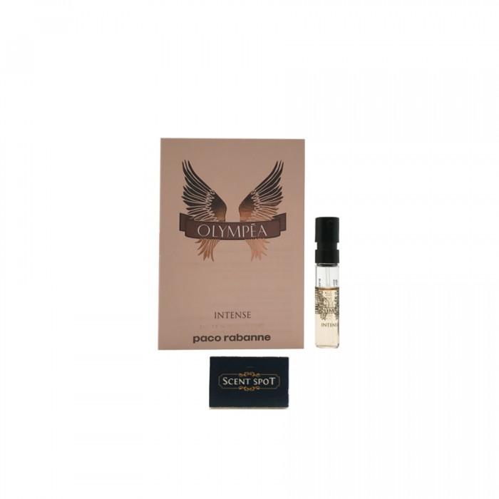 Olympea Intense by Paco Rabanne (Vial / Sample) 1.5ml Eau De Parfum Spray (Women)