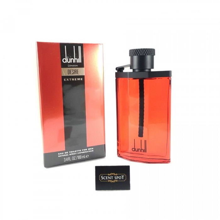 Desire Red Extreme by Alfred Dunhill (New in Box) 100ml Eau De Toilette Spray (Men)