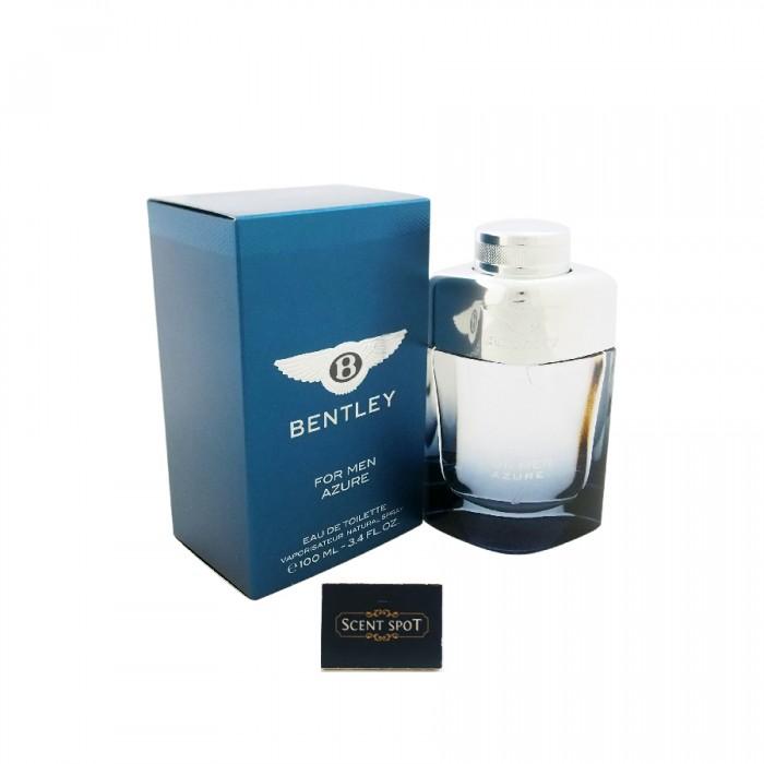 Azure by Bentley (New in Box) 100ml Eau De Toilette Spray (Men)