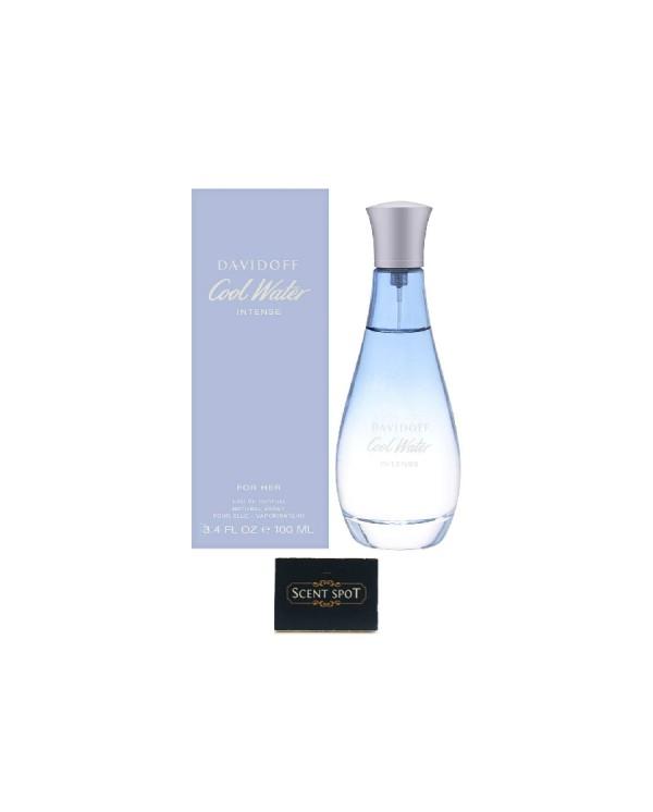 Cool Water Intense by Davidoff (New in Box) 100ml Eau De Parfum Spray (Women)