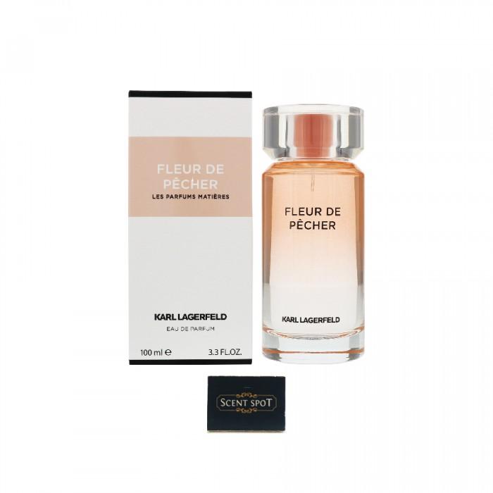 Fleur De Pecher by Karl Lagerfeld (New in Box) 100ml Eau De Parfum Spray (Women)