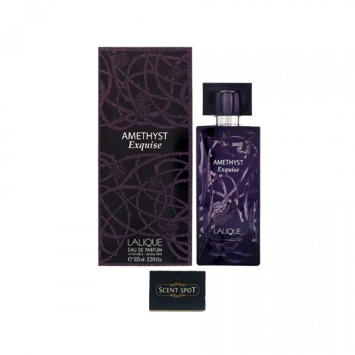 Amethyst Exquise by Lalique (New in Box) 100ml Eau De Parfum Spray (Women)