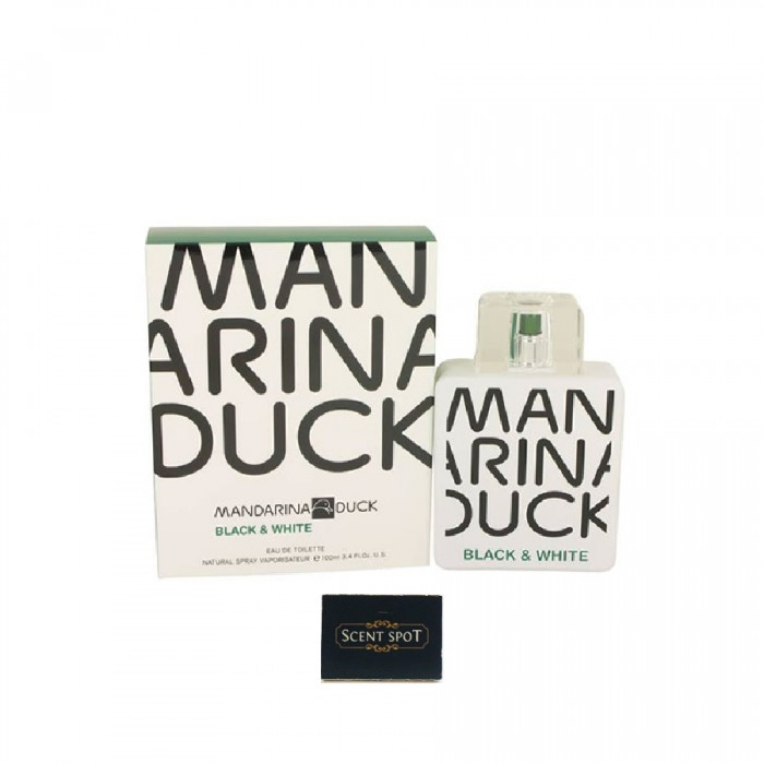 Black & White by Mandarina Duck (New in Box) 100ml Eau De Toilette Spray (Men)
