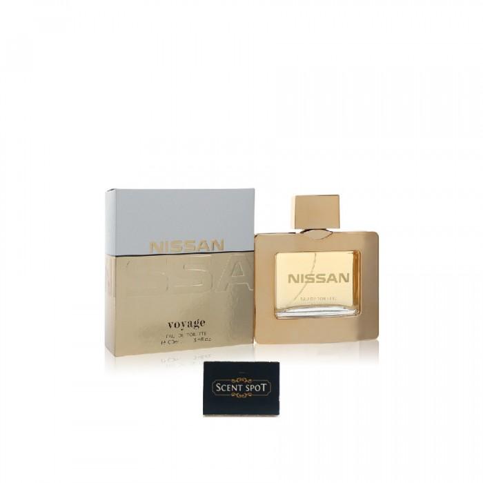 Voyage by Nissan (New in Box) 100ml Eau De Toilette Spray (Men)