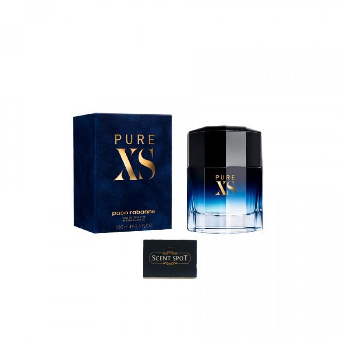 Pure XS by Paco Rabanne (New in Box) 100ml Eau De Toilette Spray (Men)