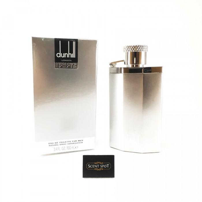 Desire Silver London by Alfred Dunhill (New in Box) 100ml Eau De Toilette Spray (Men)