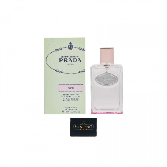 Infusion De Rose by Prada (New in Box) 100ml Eau De Parfum Spray (Women)