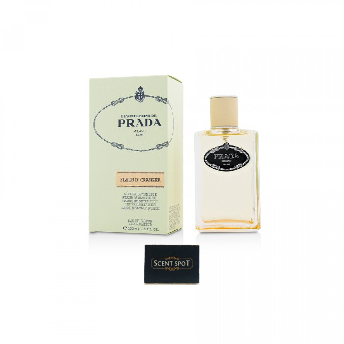 Infusion De Fleur D'oranger by Prada (New in Box) 100ml Eau De Parfum Spray (Women)