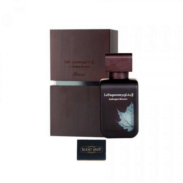 Ambergris Showers by Rasasi (New in Box) 75ml Eau De Parfum Spray (Men)