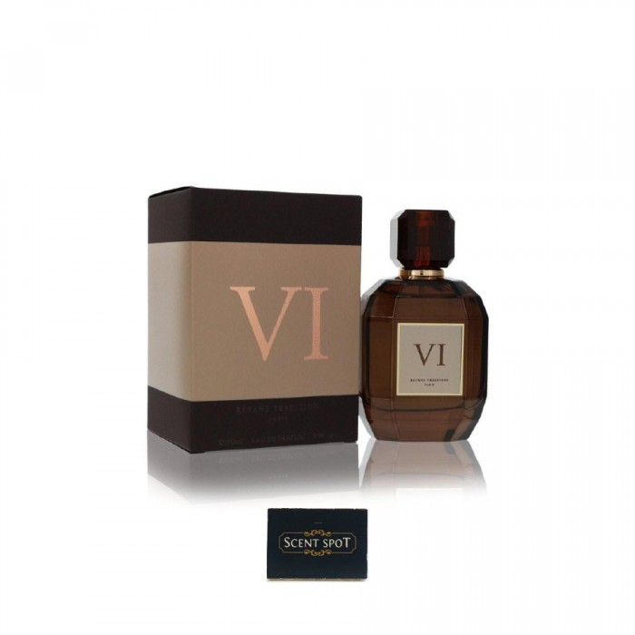 VI by Reyane Tradition (New in Box) 100ml Eau De Parfum Spray (Men)