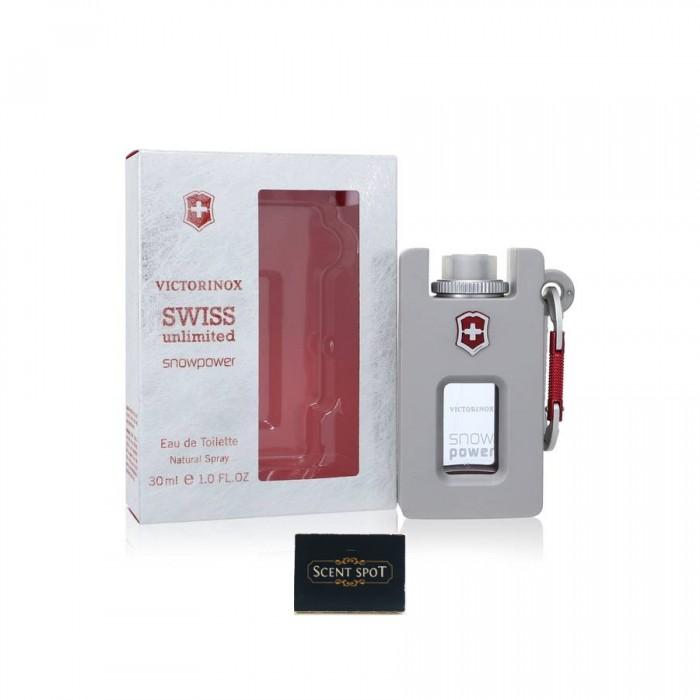 Swiss Unlimited Snowpower by Swiss Army (New in Box) 30ml Eau De Toilette Spray (Men)