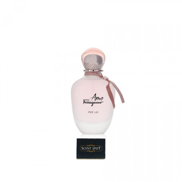 Amo Ferragamo Per Lei by Salvatore Ferragamo (Tester) 100ml Eau De Parfum Spray (Women)